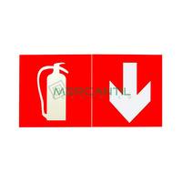 Pictograma para Emergencias URA34/URA21/L31/C3/B66/B55 LEGRAND - Extintor