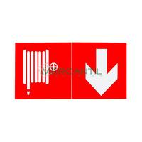 Pictograma para Emergencias URA34/URA21/L31/C3/B66/B55 LEGRAND - Manguera