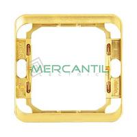 Pieza Intermedia SIMON 75 - Color Oro