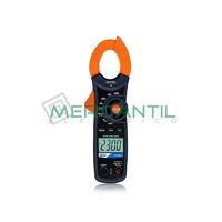 Pinza Amperimetrica 400A CC/CA CAT III 600V HT4013 HT INSTRUMENTS