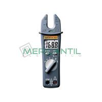 Pinza Amperimetrica Maxilar Abierto 200A CA con Detector de Tension HT7011 HT INSTRUMENTS