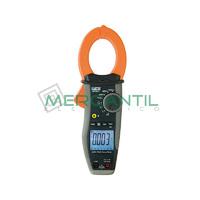 Pinza Amperimetrica Profesional CA/CC 1000A TRMS CAT IV HT9021 TRMS HT INSTRUMENTS