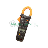 Pinza Amperimetrica Profesional CA/CC 600A TRMS CAT IV HT9015 TRMS HT INSTRUMENTS