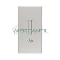 Portafusibles 6x24 1 Modulo Zenit NIESSEN - Color Plata