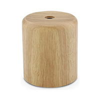 Portalamparas E27 madera sin cable IP20 GSC