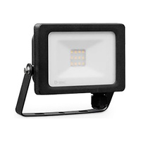 Proyector LED 10W aluminio negro IP65 GSC