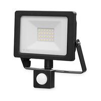 Proyector LED 10W con sensor negro IP65 GSC