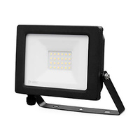 Proyector LED 20W aluminio negro IP65 GSC