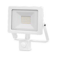 Proyector LED 20W con sensor blanco IP65 GSC