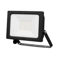Proyector LED 50W aluminio negro IP65 GSC
