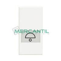 Pulsador Iluminable 1 Modulo Axolute BTICINO - Simbolo Campana
