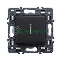 Pulsador Inversor Iluminable con Simbolo Campana 6A Valena Next LEGRAND - Color Dark