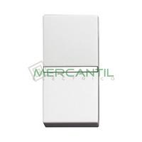 Pulsador NC sin Grabar 1 Modulo Zenit NIESSEN - Color Blanco