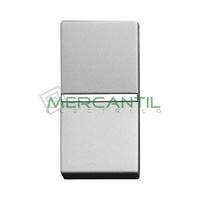 Pulsador NC sin Grabar 1 Modulo Zenit NIESSEN - Color Plata