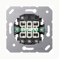 Pulsador Triple LS990 JUNG