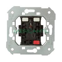 Pulsador con LED Rojo Incorporado 24V para Domotica SIMON 75