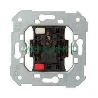 Pulsador con LED Verde Incorporado 24V para Domotica SIMON 75