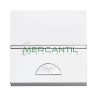 Pulsador con Simbolo Luz 2 Modulos Zenit NIESSEN - Color Blanco