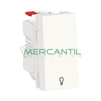 Pulsador con Simbolo de Luz 1 Modulo New Unica SCHNEIDER ELECTRIC