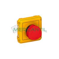 Pulsador de Emergencia 1 Contacto NA/NC Plexo LEGRAND