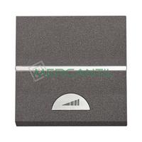Regulador Electronico Giratorio/Pulsacion 2 Modulos Zenit NIESSEN - Color Antracita