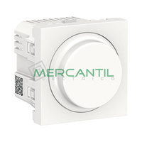 Regulador LED Universal 5-200W 2 Modulos New Unica SCHNEIDER ELECTRIC