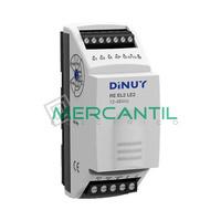 Regulador Modular para Tiras LED Monocolor 12/48Vcc 20A DINUY