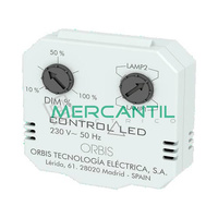 Regulador Oculto en Caja de Mecanismo para Lamparas LED Regulables CONTROL LED ORBIS