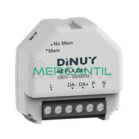 Regulador para Luminarias LED/Fluoresencia DALI DINUY