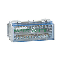 Repartidor Modular Monobloc Bipolar 2P 40A LEGRAND - 13 Conexiones