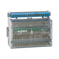 Repartidor Modular Monobloc Tetrapolar 4P 125A LEGRAND – 15 Conexiones