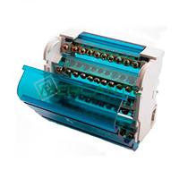 Repartidor de Fase Carril DIN 4P 125A 88x65x51 RETELEC