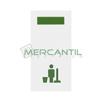 Señalizador con Difusor Verde LED No Molestar 1 Modulo Zenit NIESSEN - Color Blanco
