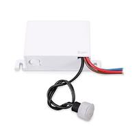 Sensor empotrar crepuscular regulable IP44 GSC