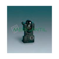 Soporte con Lampara Neon para Interruptor/Pulsador 1mA SIMON 31