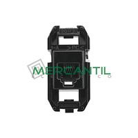 Soporte para Toma de Telefono RJ12 6 Contactos 1 Modulo Zenit NIESSEN