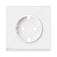 Tapa Frontal para Enchufe iO SIMON 100 - Color Blanco mate