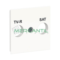 Tapa de Recambio para Base R-TV/SAT 2 Modulos New Unica SCHNEIDER ELECTRIC