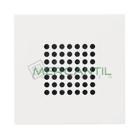 """Tapa para Altavoz de 2"""" 2 Modulos Zenit NIESSEN - Color Blanco"""