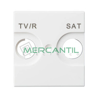 Tapa para Base de Television TV/R-SAT Valena Next LEGRAND - Color Blanco