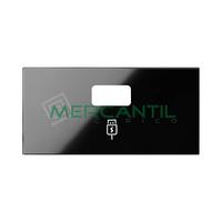 Tapa para Cargador USB SIMON 100 - Color Negro