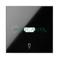 Tapa para Conector HDMI SIMON 100 - Color Negro mate