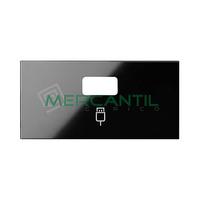 Tapa para Conector USB Datos SIMON 100 - Color Negro mate
