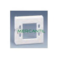 Tapa para Mecanismos de Control de Persianas con Display SIMON 82