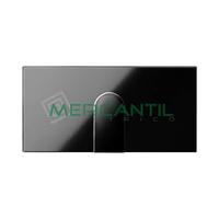 Tapa para Salida de Cables SIMON 100 - Color Negro