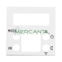 Tapa para Termostato Digital con Memoria No Volatil 2 Modulos Zenit NIESSEN - Color Blanco