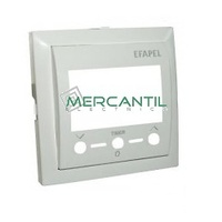 Tapa para Termostato con Mando Remoto Infrarrojo LOGUS 90 EFAPEL