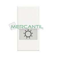 Tecla Axial con Lente y Simbolo Iluminable 1 Modulo Axolute BTICINO - Simbolo Luz