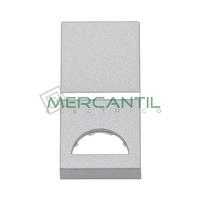 Tecla Mecanismos Preparada para Simbolo 1 Modulo Zenit NIESSEN - Color Plata