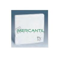 Tecla Simple con Símbolo de Campana para Mecanismos Serie 82 SIMON Ref: 82017-30